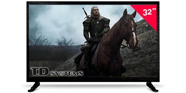 """TV LED TD Systems K32DLM3H de 32"""" (HD 720p)"""