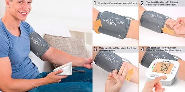 Tensiómetro de brazo inteligente Superior Arealer barato