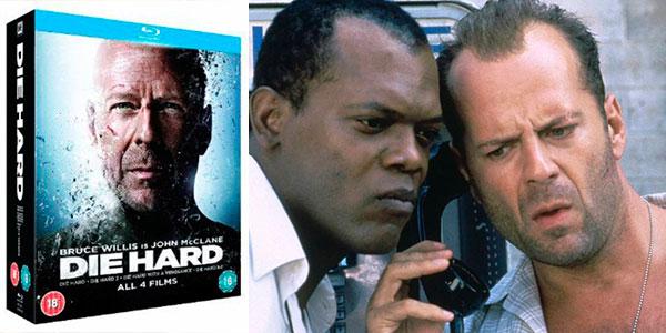 Tetralogía Die Hard (La Jungla de Cristal) en Blu-ray barata