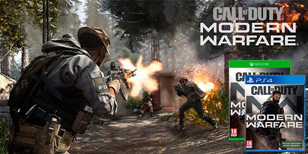 Comprar Call of Duty Modern Warfare para PS4 y Xbox One