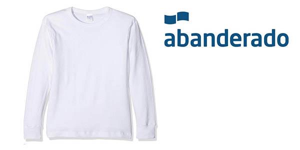 Abanderado camiseta interior infantil barata
