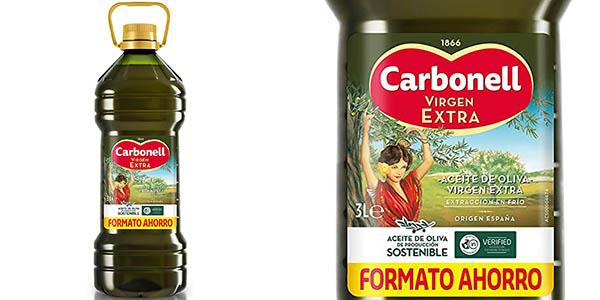 Aceite de Oliva Carbonell VIRGEN EXTRA de 3 litros