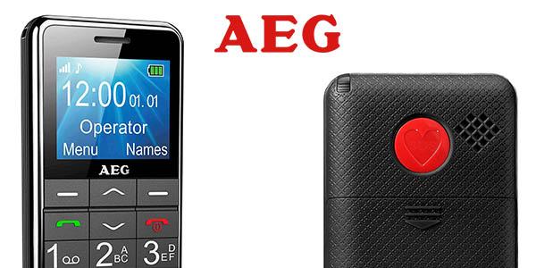 AEG M250 teléfono móvil libre barato para personas mayores