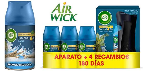 Air Wick ambientador freshmatic completo barato