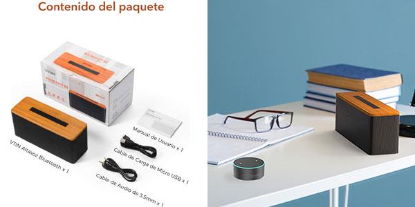 Comprar altavoz Bluetooth Vtin B2 rebajado en Amazon
