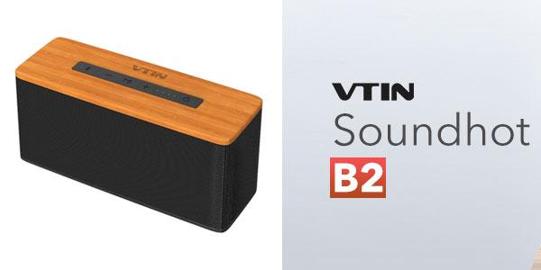 Comprar altavoz Bluetooth Vtin B2 barato en Amazon