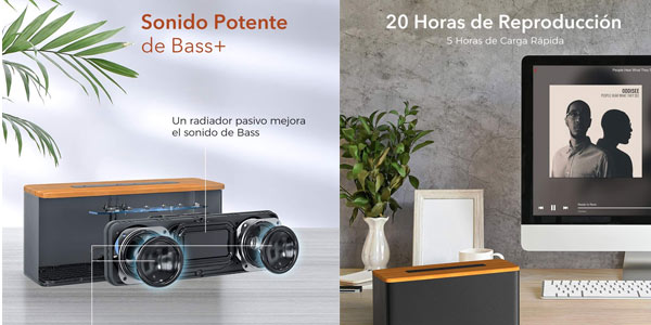 Comprar altavoz Bluetooth Vtin B2 en oferta en Amazon