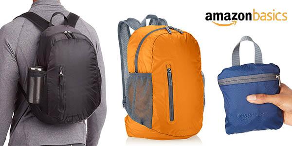 AmazonBasics mochila plegable barata