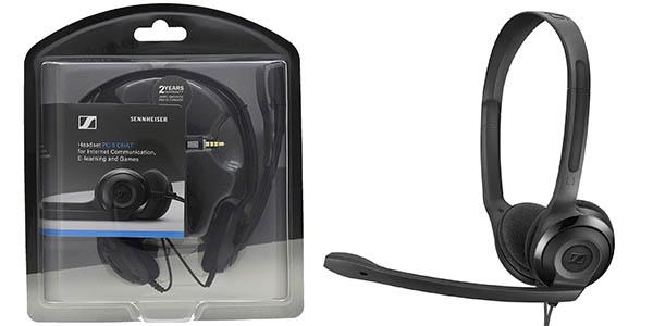 Auriculares Sennheiser PC 5 Chat con micrófono
