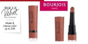 Barra de Labios Bourjois Velvet The Lipstick Tono 16 Caramelody barata en Amazon