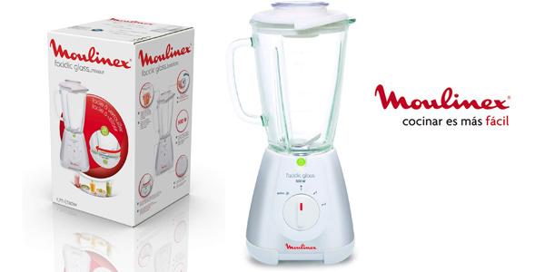 Batidora de vaso Moulinex Faciclick Cristal LM310113 de 500 W barata en Amazon