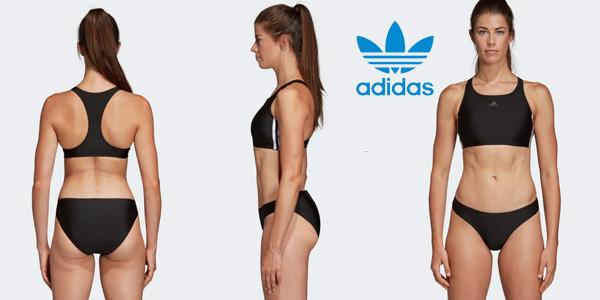 Bikini de natación Adidas 3 bandas para mujer barato en Amazon