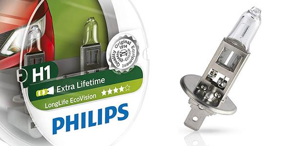 bombillas para el coche Philips 12258LLECOS2 Longlife Ecovision oferta