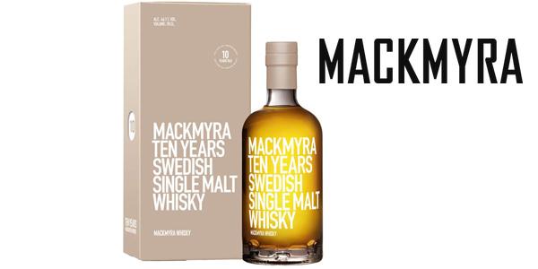Mackmyra Ten Years Swedish Single Malt Whiskey de 70 cl barato en Amazon