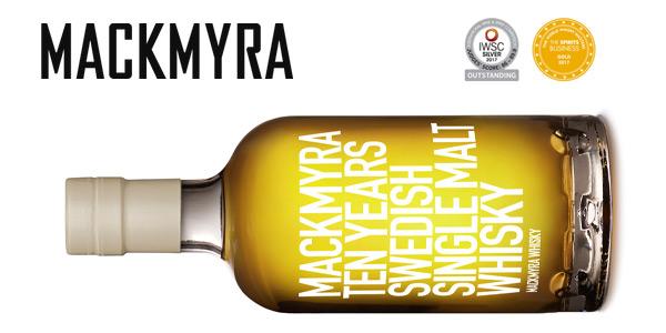 Mackmyra Ten Years Swedish Single Malt Whiskey de 70 cl chollo en Amazon