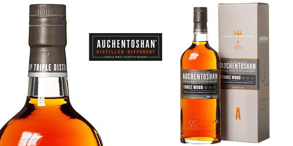 Whisky Auchentoshan Three Wood Single Malt de 700 ml barato en Amazon