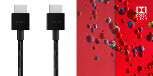 Cable Belkin Ultra HD HDMI 2.1 de 48 Gbps barato
