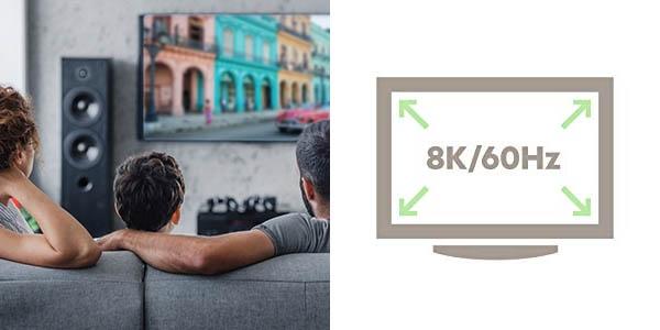 Cable Belkin Ultra HD HDMI 2.1 de 48 Gbps
