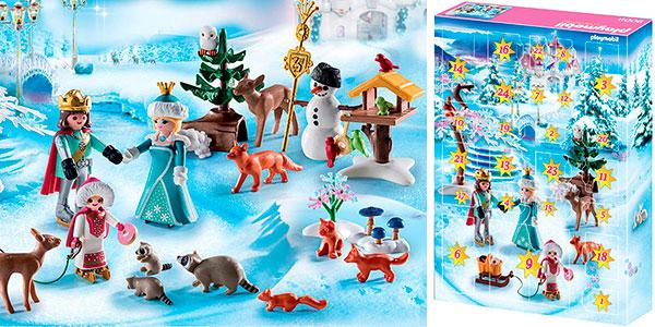 Calendario de Adviento Patinaje sobre hielo de Playmobil con 3 figuras barato