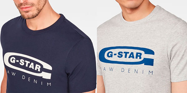Camiseta G-Star Raw Graphic Logo 4 para hombre barata