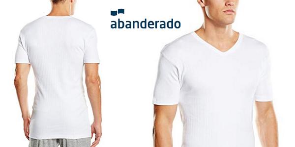 Camiseta manga corta Abanderado Termal para hombre chollo en Amazon