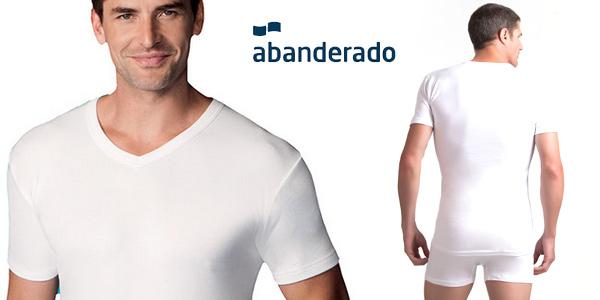 Camiseta manga corta Abanderado Termal para hombre barata en Amazon