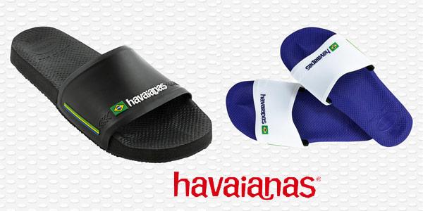 Chanclas unisex Havaianas Slide Brasil chollo en Amazon