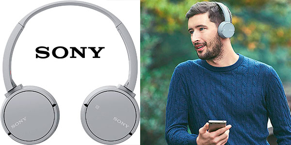 Chollo Auriculares Sony WH-CH500H inalámbricos con diafragma de 30 mm