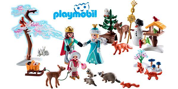 Chollo Calendario de Adviento Patinaje sobre hielo de Playmobil con 3 figuras
