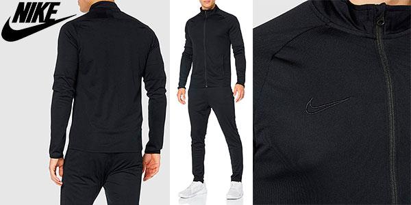 último descuento una gran variedad de modelos amplia selección de diseños Chollo Chándal de fútbol Nike Dri-fit Academy para hombre por sólo ...