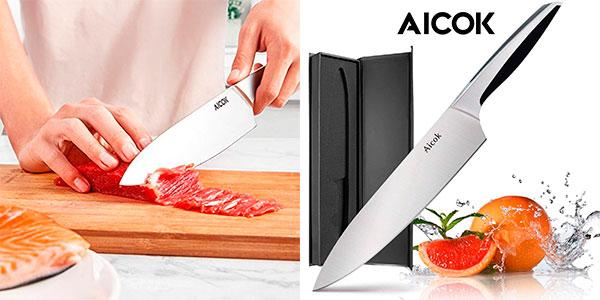 Chollo Cuchillo de cocina Aicok profesional de 20 cm