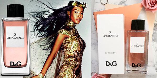 Chollo Eau de toilette Dolce & Gabbana 3 L'Imperatrice de 100 ml para mujer
