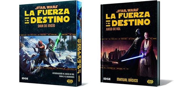 Chollo Manual del juego de rol Star Wars: La Fuerza y el Destino