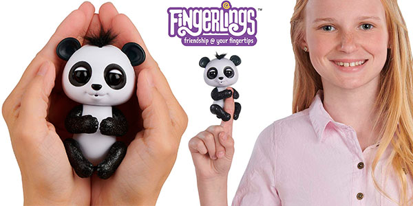 Chollo Oso interactivo Baby Panda Fingerlings