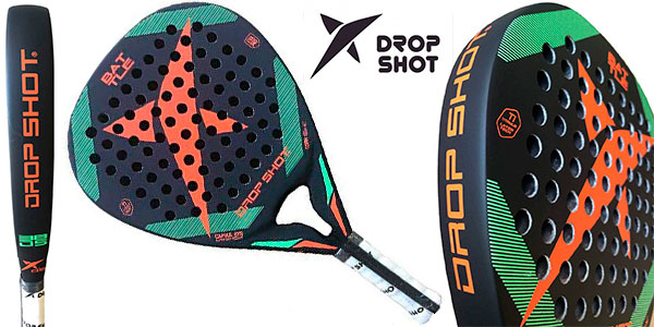 Chollo Pala de pádel Drop Shot Battle Carbon 2019