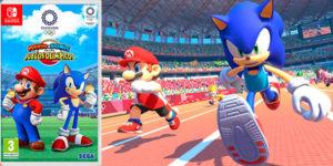 Reserva Mario & Sonic en las Olimpiadas de Tokyo 2020 para Switch