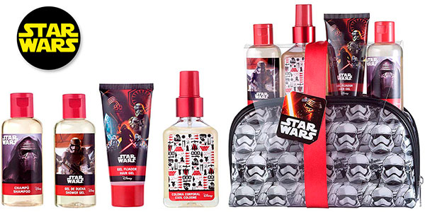 Chollo Set de regalo Star Wars con neceser de cosmética