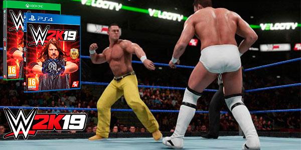 Chollo WWE 2K19 para Xbox One y PS4