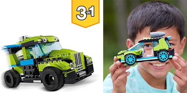 coche de rally de construcción LEGO Creator chollo