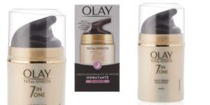 Crema de Noche Anti-Edad Olay Total Effects 7en1 Reafirmante de 50 ml barata en Amazon