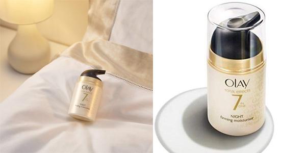 Crema de Noche Anti-Edad Olay Total Effects 7en1 Reafirmante de 50 ml chollo en Amazon