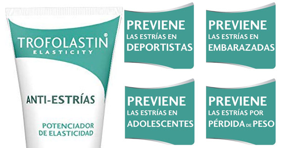 Trofolastin Crema Antiestrías de 250 ml chollo en Amazon