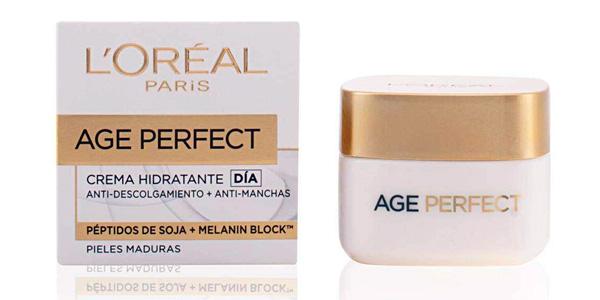 Crema hidratante de Día L'Oreal Paris Age Perfect para pieles maduras de 50 ml barata en Amazon