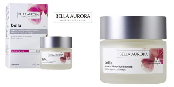 Crema facial Bella Aurora Multi perfeccionadora piel normal seca barata en Amazon
