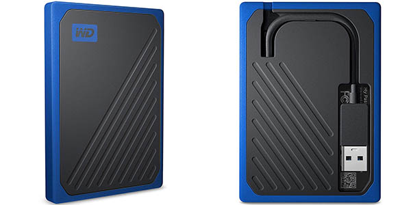 Disco SSD portátil WD My Passport Go 1 TB barato