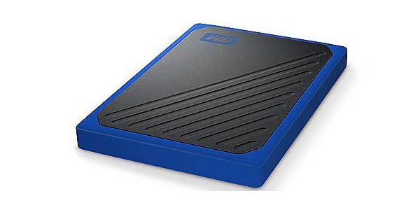 Disco SSD portátil WD My Passport Go 1 TB en Amazon