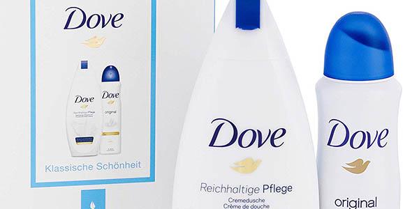 Dove caja con gel ducha y desodorante Original oferta