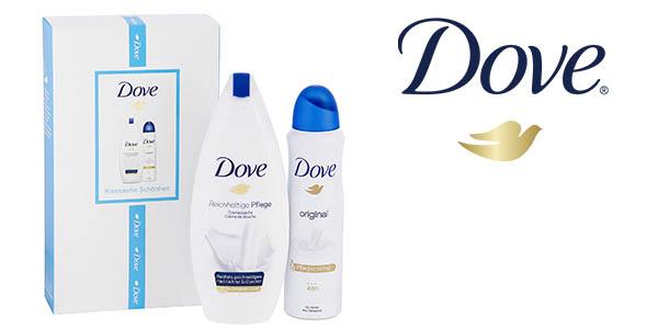 Dove set de regalo con gel de ducha y desodorante barato
