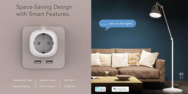 enchufes inteligentes Nooie con control a distancia mediante App oferta