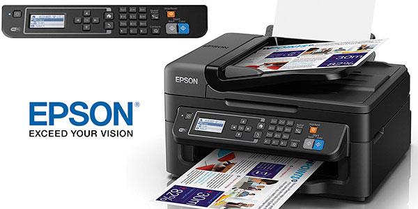 Impresora multifunción Epson Workforce WF-2630WF de tinta con Wi-Fi barata